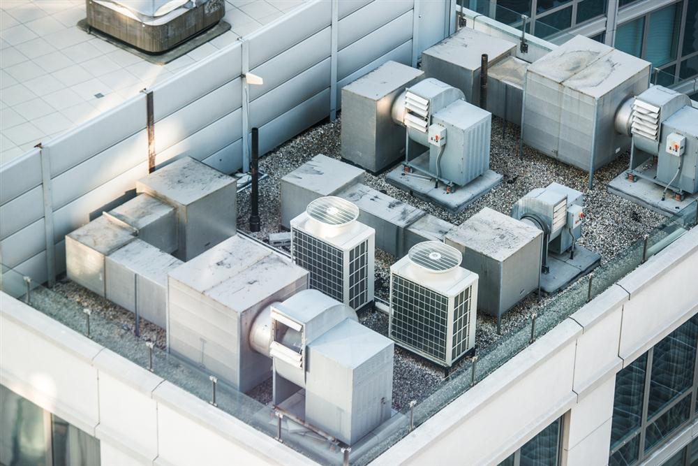 Rooftop HVAC systems in Pleasant Prairie