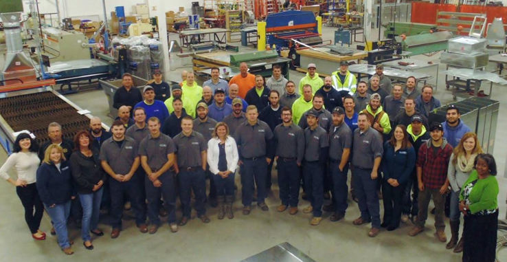 Commercial HVAC, Plumbing, Fire-Protection, Engineering, and Prefabrication team.