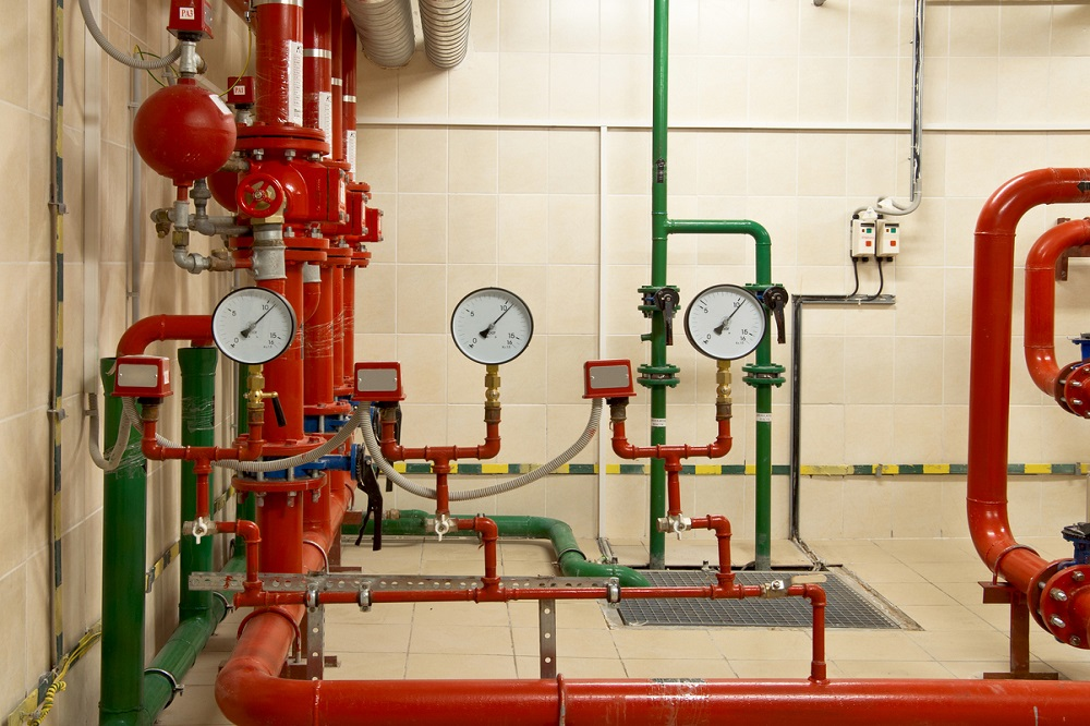 Commercial Fire Sprinkler System Design